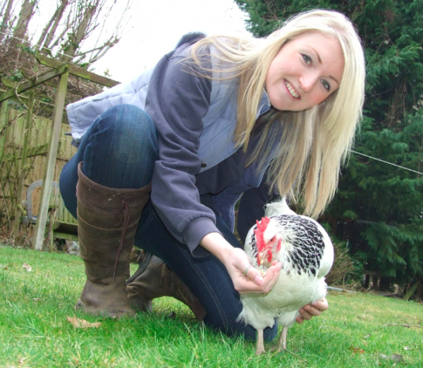 Jenna Jack of Warwicksire Chicken Coop