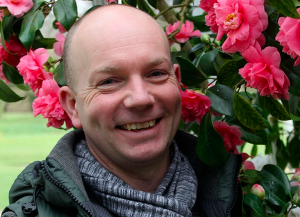 Jonathan Moseley, floral expert on The BBC's Big Allotment Challenge